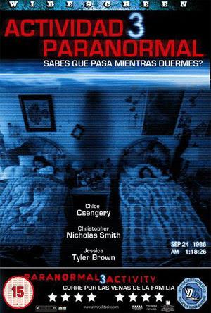 Actividad Paranormal 3 DVDrip 2011 Español Latino Terror Un Link PutLocker