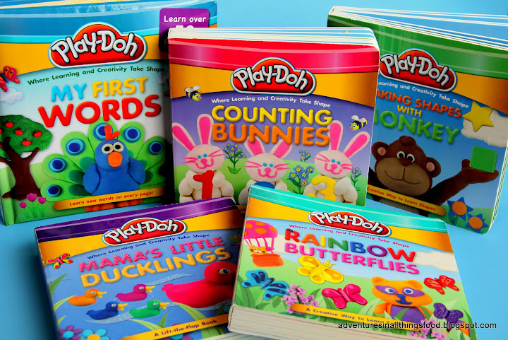 adventures in all things food story time with play doh board books review giveaway. Black Bedroom Furniture Sets. Home Design Ideas