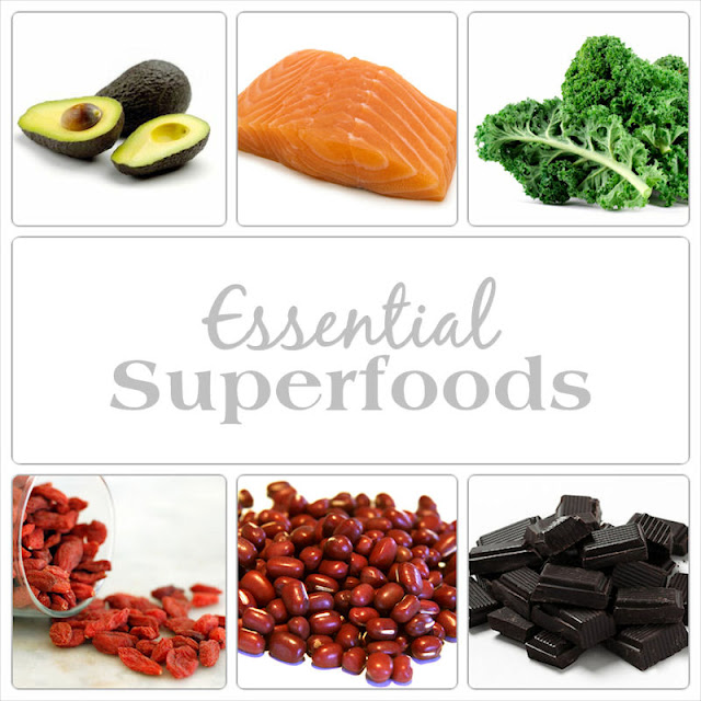 """Essential 6 """"Superfoods""""; the Nutritious, Wholesome Way of Life"""