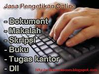 Jasa Pengetikan Online