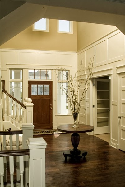 Two Story Foyer Design Ideas : Simple details a collection of ideas for decorating two