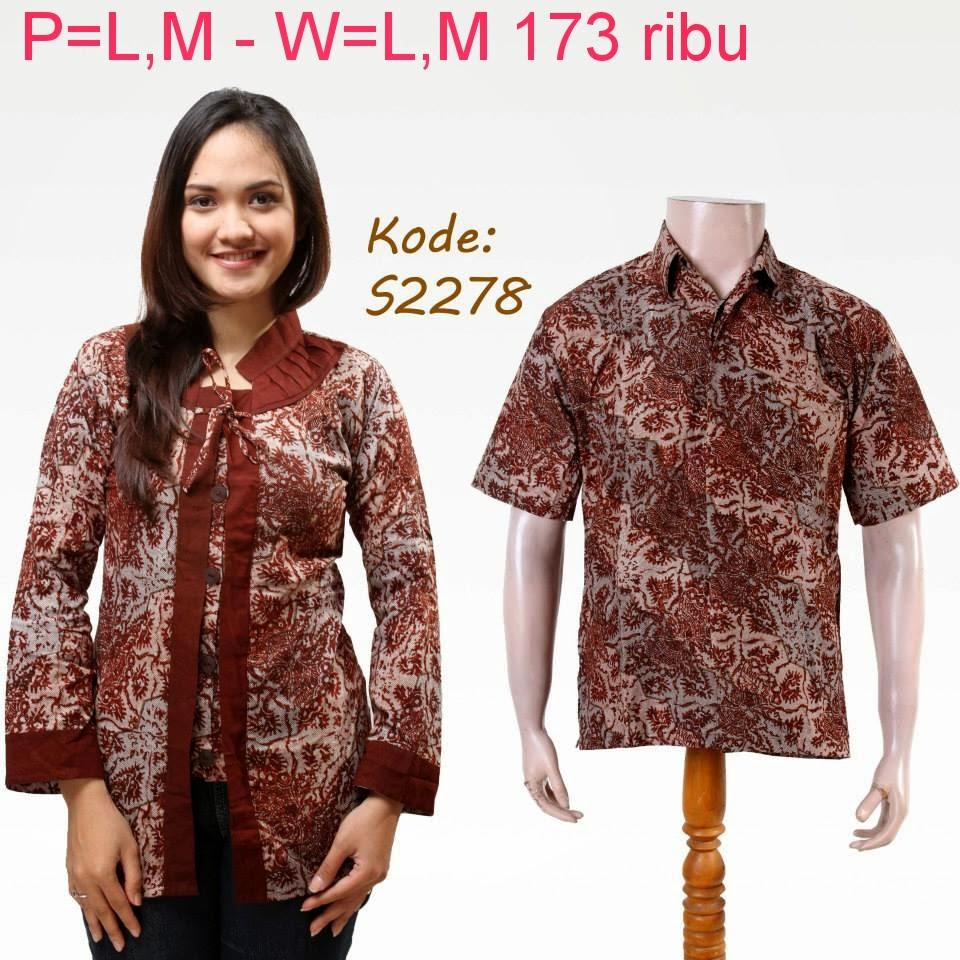 Batik Pasangan 2015 Batik Keluarga Batik Modern Murah Baju