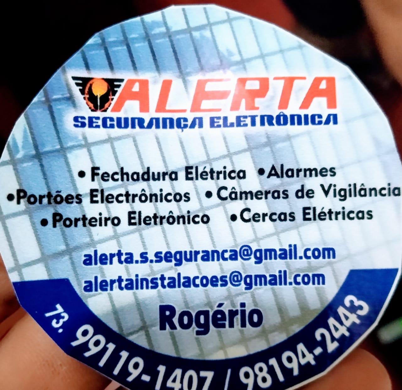ALERTA SEGURANAÇA ELETRONICA
