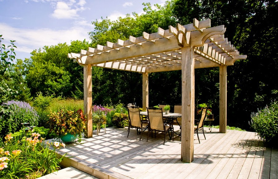 wooden pergola contractor. Black Bedroom Furniture Sets. Home Design Ideas