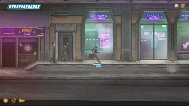 Screenshot of the video game Dex which is in development for the Wii U