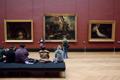 Blog du peintre francisco rivero delacroix quitte le louvre for Le louvre interieur