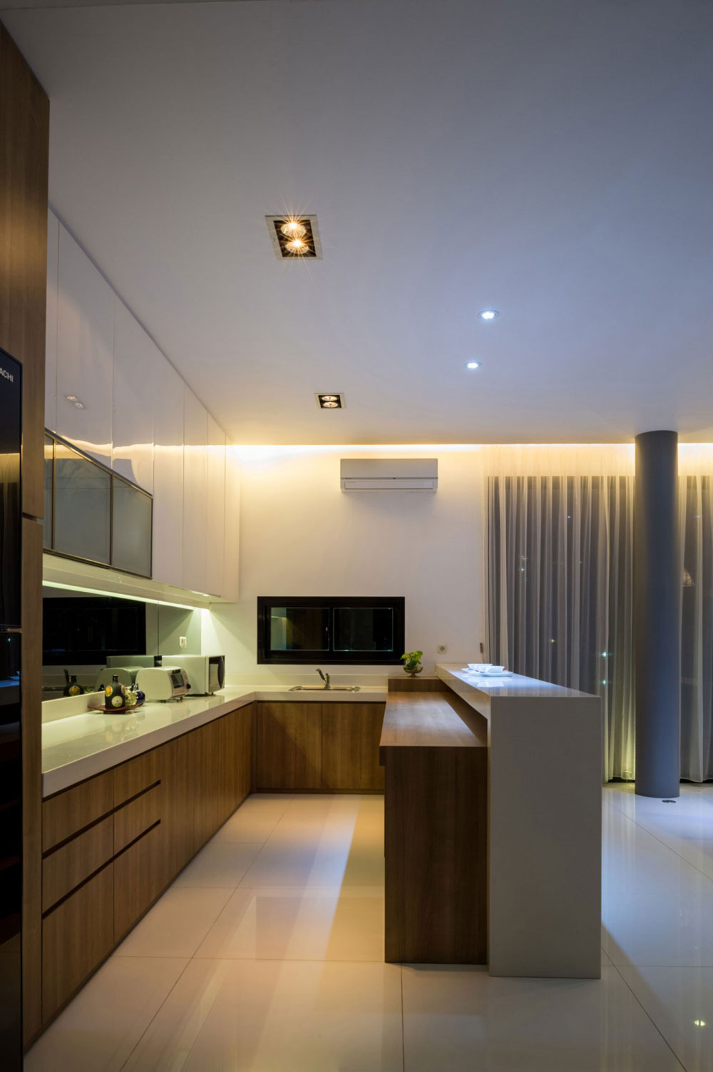Beautiful Kitchen Design For Flats Photos   Best Image 3D Home Awesome Design