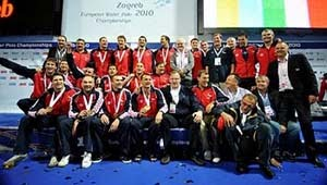 Croatia - European Champion Men, Zagreb 2010