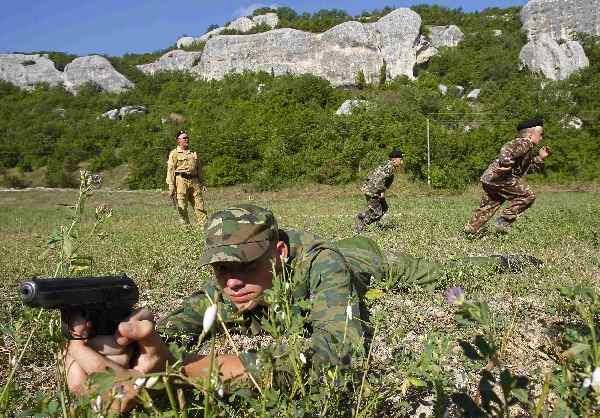 Tentara Ukraina Tewas Tertembak di Krimea