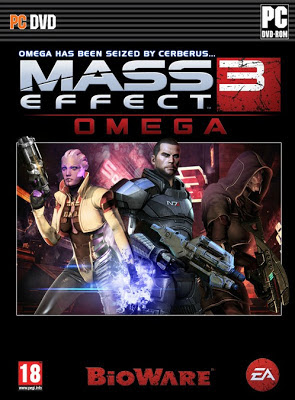 MASS EFFECT 3 OMEGA COVER