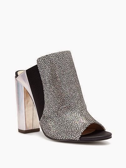 Victoria Secret Peep Toe Mule