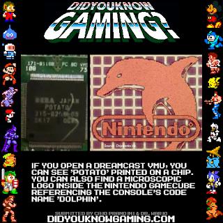 dreamcast vmu gamecube fact Random Game Facts   Dreamcast VMU & Gamecube