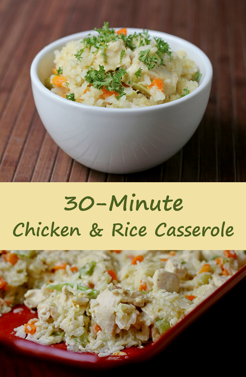 30-Minute Chicken and Rice Casserole