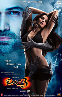 Raaz 3: The Third Dimension 2012 poster