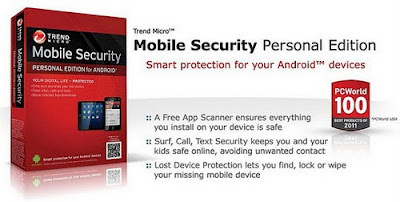 trend mobile security with 1 year license key