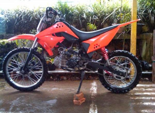 Modifikasi Motor Trail Vega R