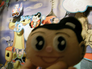 京都101年祭にて猿飛顔フェルト