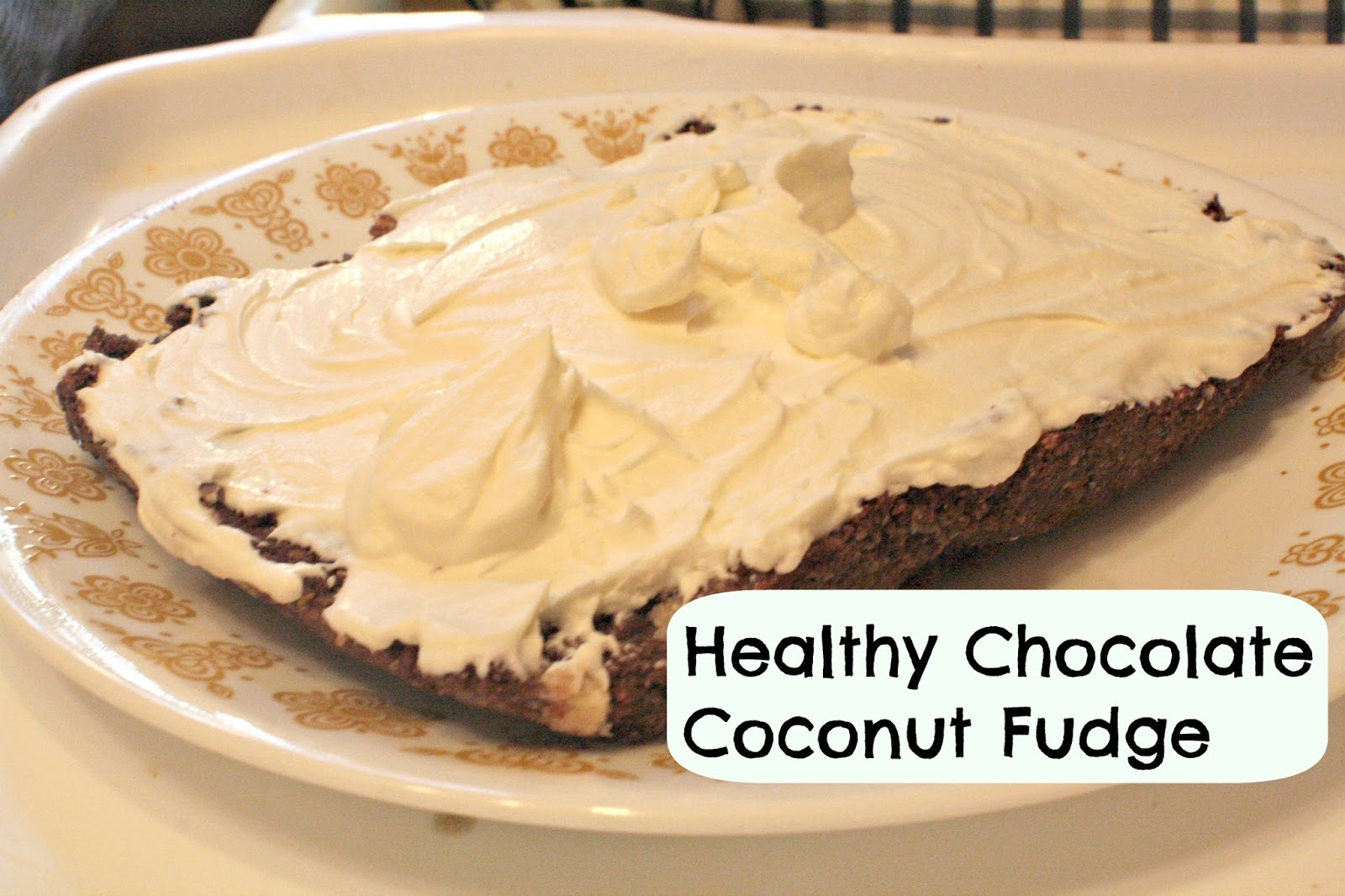 Blessed In Homemaking: Healthy Chocolate Coconut Fudge Recipe