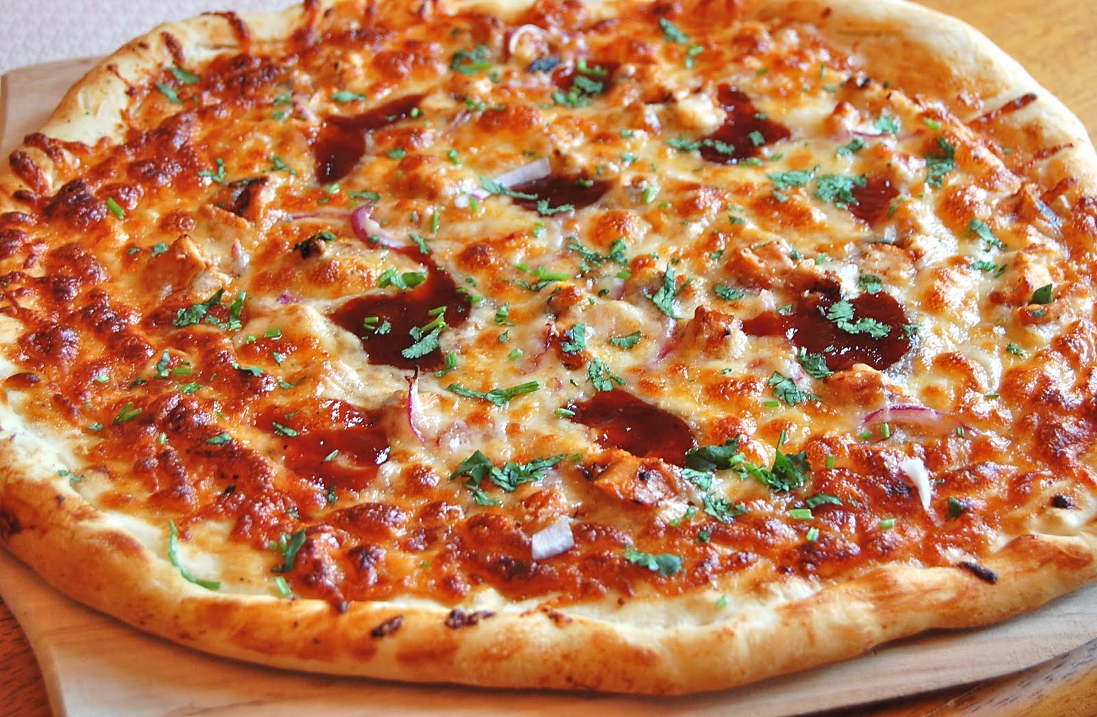 Chef Mommy: BBQ Chicken Pizza