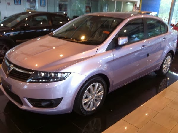 Malaysia Motoring News Soft Lilac New Color For Proton Preve