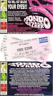 MONDO STUMPO: FILM PROGRAMS: Mondo Bizarro (2001) and Mondo Trasho