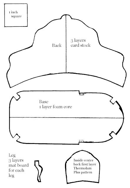 Dashing image for free printable dollhouse furniture patterns