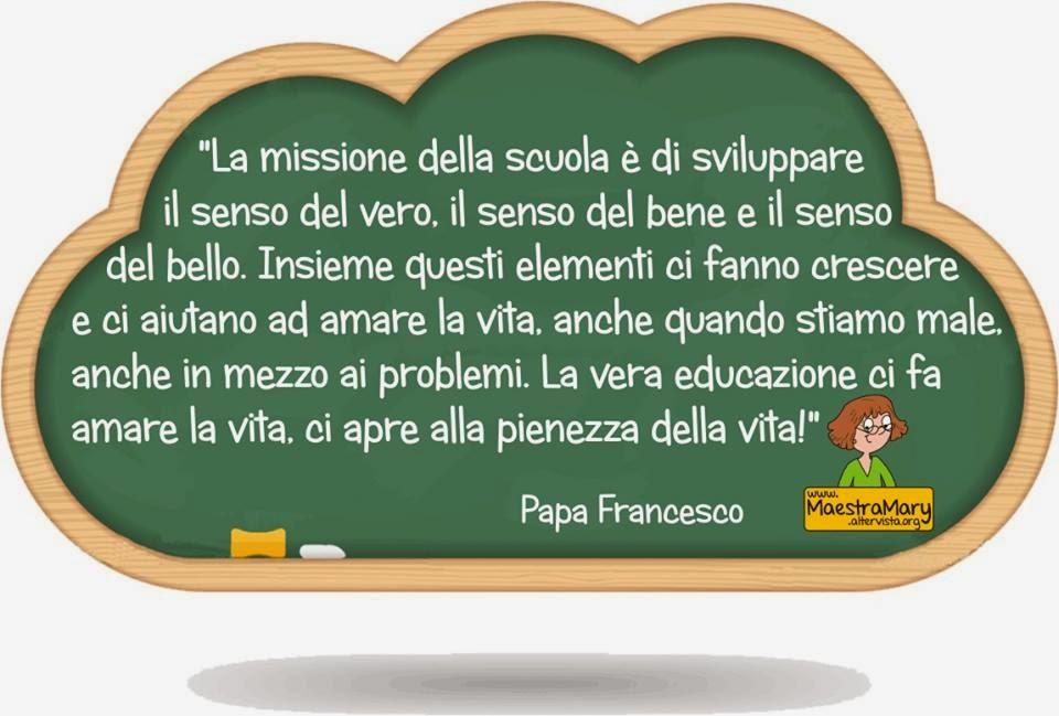 Papa Francesco dice che...