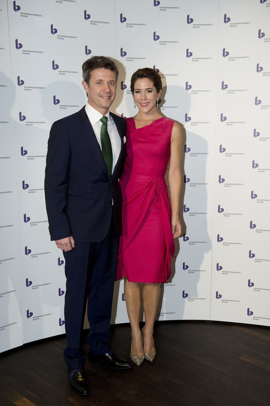 Kronprins Frederik and Kronprinsesse Mary´s Kronprinsparrets Priser 2014. Crown Prince Frederik and Crown Princess Mary