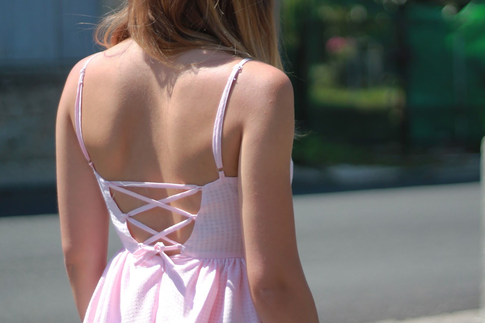 Robe corsage dos