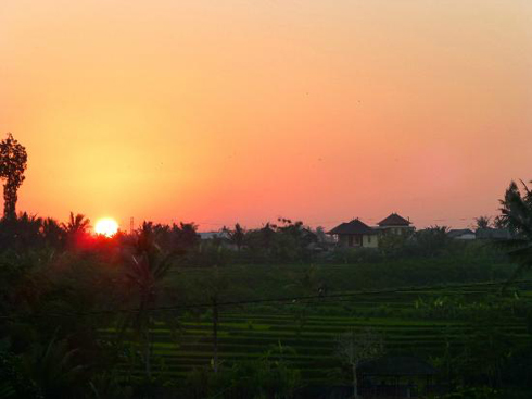 Sunset At Balam Bali