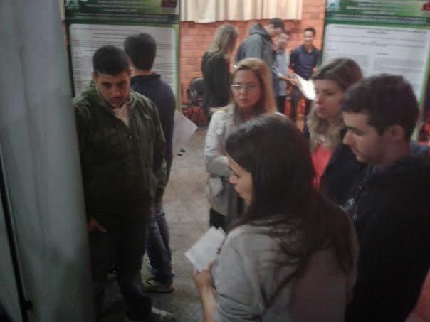 Apresentação de trabalho no Workshop