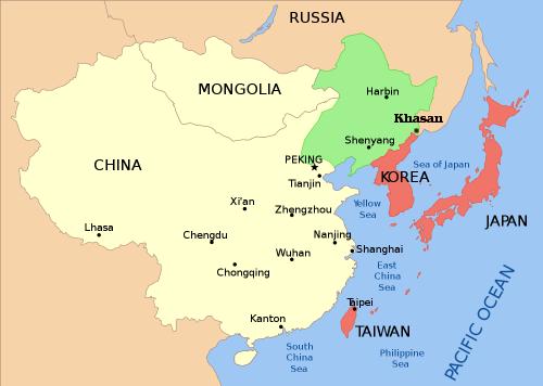 Manchuria Map Gallery