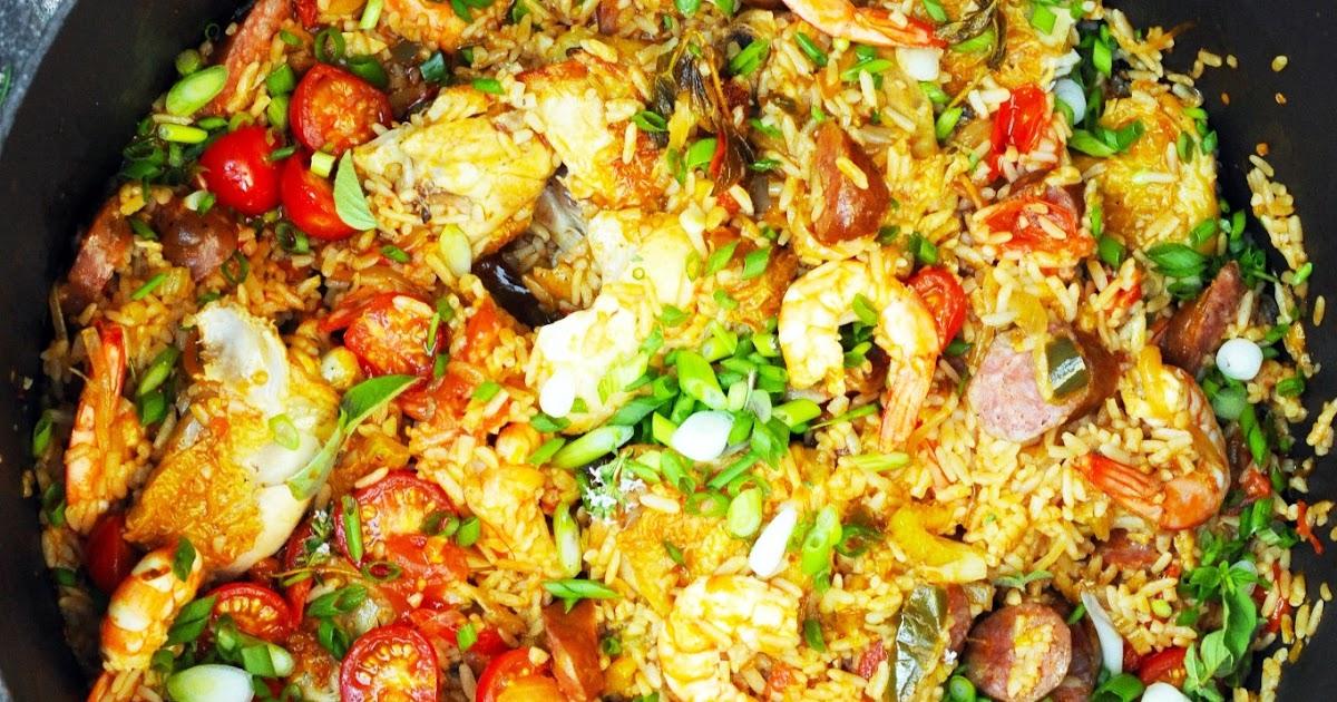 Jambalaya ! Jambalaaaayaaaa !!! Un vrai plat à copains et à soleil… à soleil…