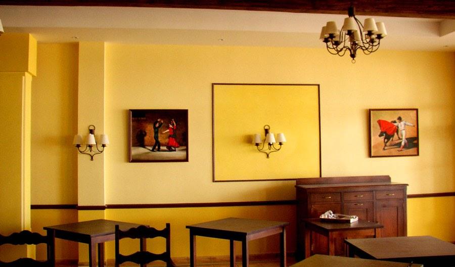 Decoraci N Del Restaurante De Comida Espa Ola En El Hotel