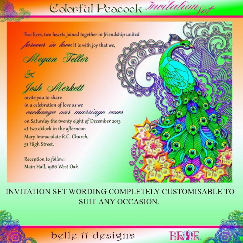 Nautech Inc: DIY Printable Wedding Invitation - Bollywood Indian ...