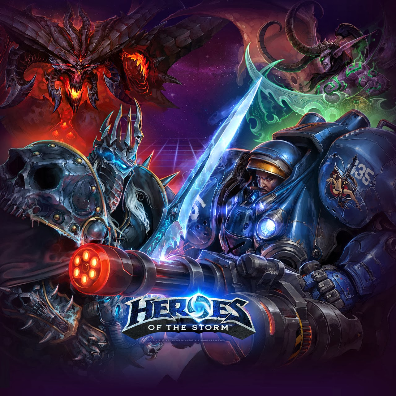 Torrent Super Compactado Heroes of the Storm PC