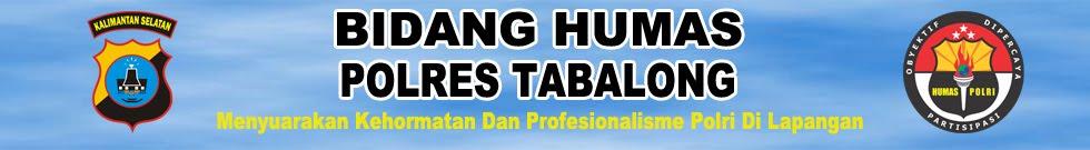 HUMAS POLRES TABALONG