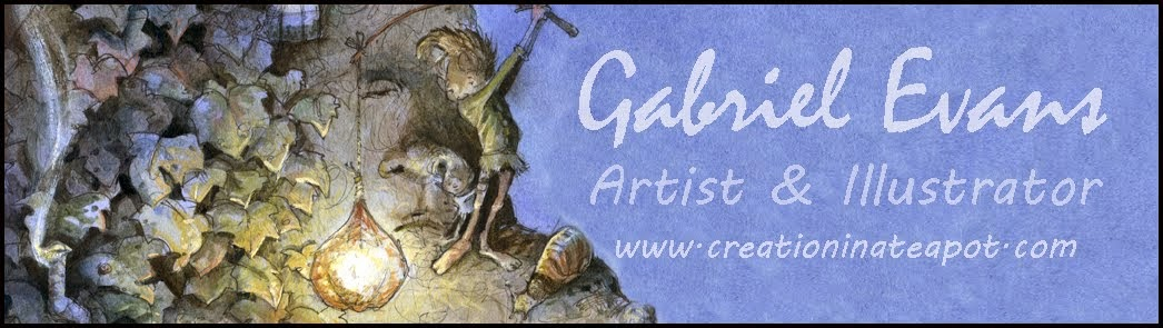 Gabriel Evans - Artist & Illustrator