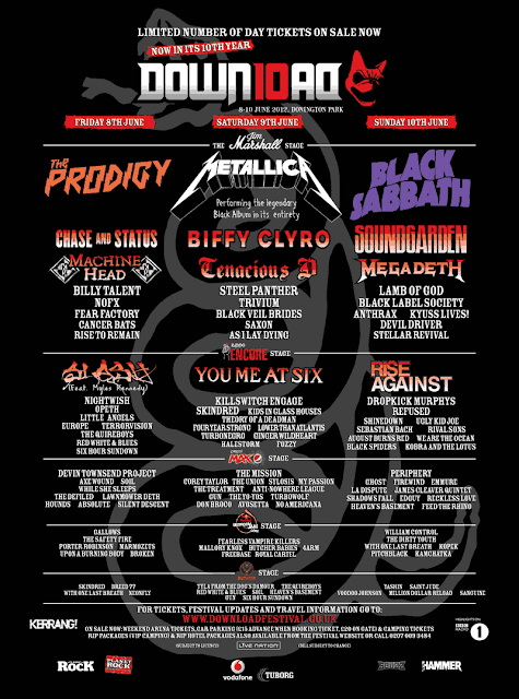 A picture of Download Festival 2012 Poster