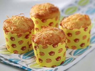 Resep Kue Cupcake Keju(Cheesy) yang Yumiii