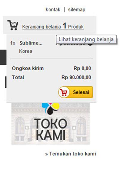 e-commerce  belitinta