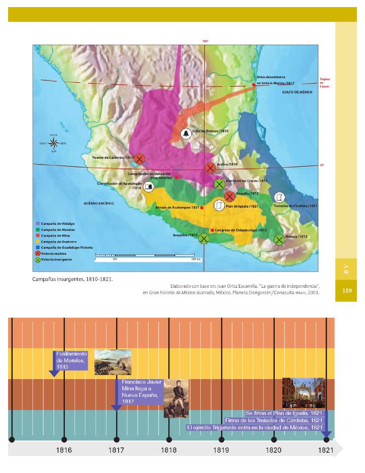Panorama del período. Ubicación temporal y espacial del movimiento de independencia - Historia 4to Bloque 5 2014-2015