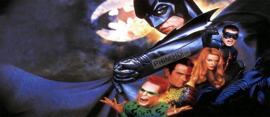 Phim Người Dơi Bất Tử VietSub HD | Batman Forever 1995