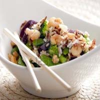 Weight Loss Recipes : Wild Rice with Vegetables