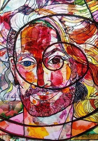 Jesus In Love Blog New Cosmic Christ Art Includes LGBT