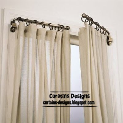 swing arm curtain rod, unique window coverings
