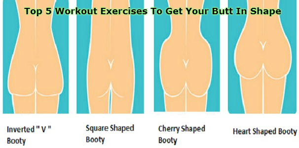 Top 5 Workout Exercises To Get Your Butt In Shape