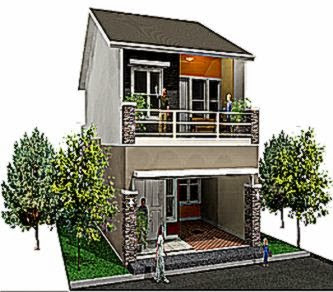 model rumah 2 lantai minimalis design rumah minimalis