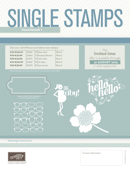 Stampin' Up! single stamps UK