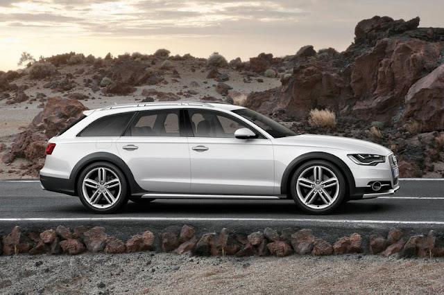 2013 Audi A6 Allroad Quattro Silver Wallpaper
